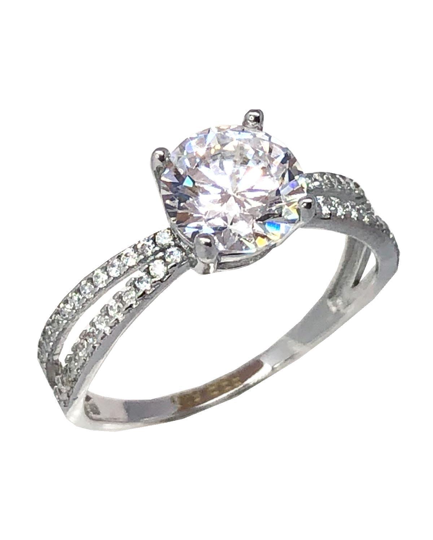 Ρολόι Ring 14ct White Gold with Zircon SAVVIDIS - 5FM2169BR - OROLOI.gr dbaf6b0ba5e