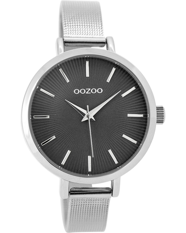 Ρολόι OOZOO Timepieces Silver Metallic Bracelet - C9492 - OROLOI.gr 9272d63e96c