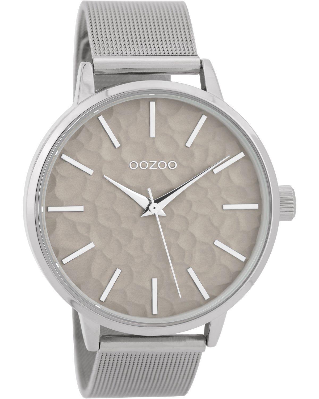 Ρολόι OOZOO Timepieces Silver Metallic Bracelet - C9571 - OROLOI.gr 0c6153e481f