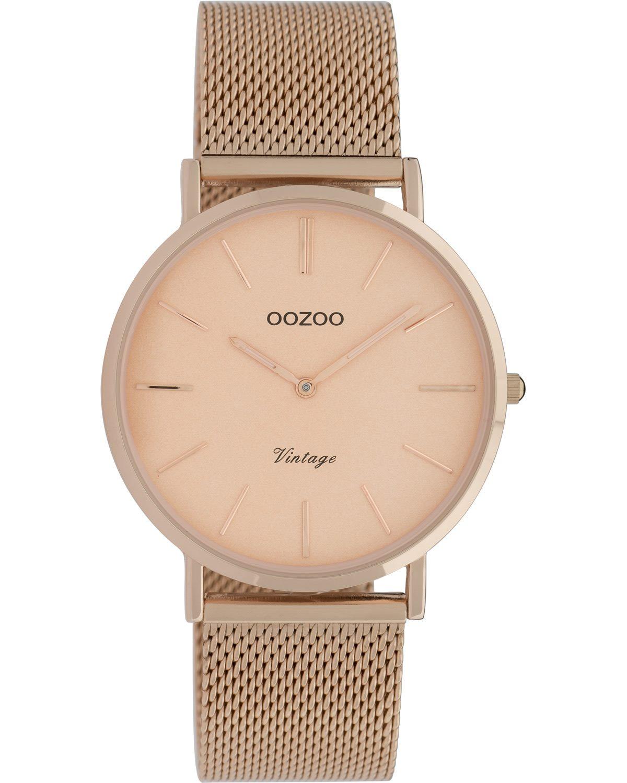 Ρολόι OOZOO Vintage Rose Gold Metallic Bracelet - C9922 - OROLOI.gr eb6e752e0a7