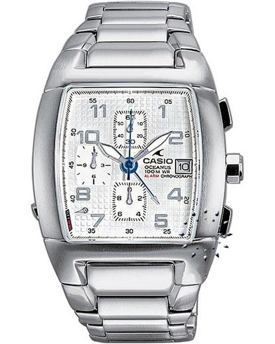 Ρολόι CASIO Collection Oceanus Chronograph Stainless Steel Bracelet -  OC-502D-7AV - OROLOI.gr 9cb491e2565