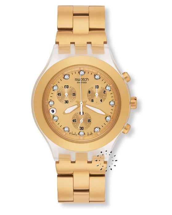 Ρολόι SWATCH IRONY FullBlooded GOLD - SVCK4032G - OROLOI.gr dacc61df789