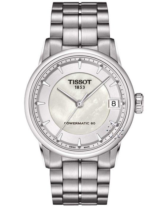 TISSOT T-Classic Luxury Powermatic 80 Automatic Stainless Steel Bracelet fb8af038adf