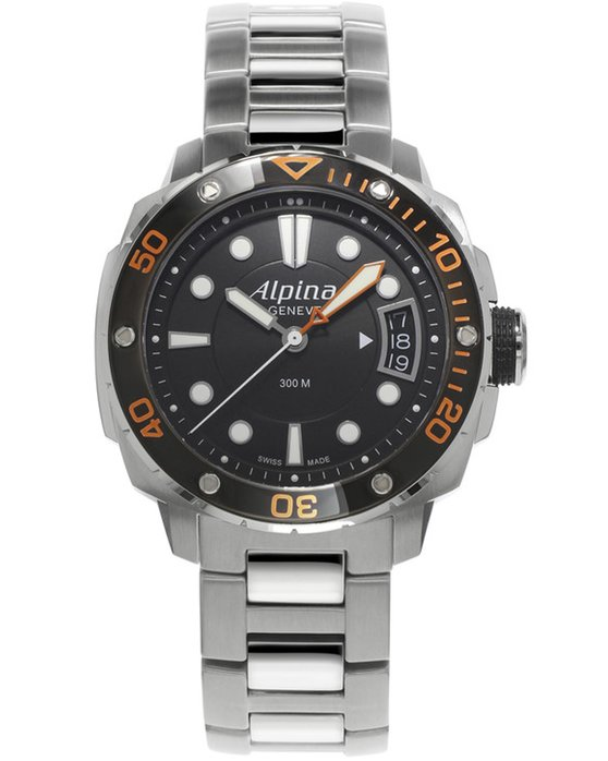 ALPINA Adventure Divers Stainless Steel Bracelet