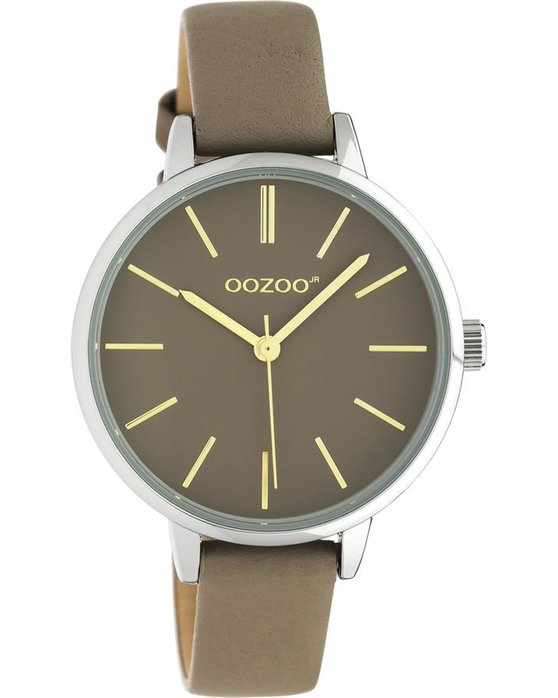 OOZOO Junior Brown Leather Strap (34mm)