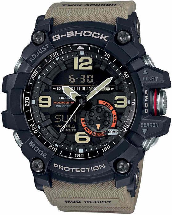 Ρολόι CASIO G-Shock Anadigi Beige Rubber Strap - GG-1000-1A5ER ... c3f337bfe01
