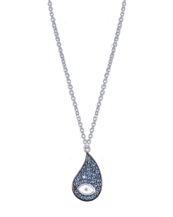 Ρολόι Necklace 14ct White Gold with Zircon SAVVIDIS - 845KO3300W - OROLOI.gr 64e33dee135
