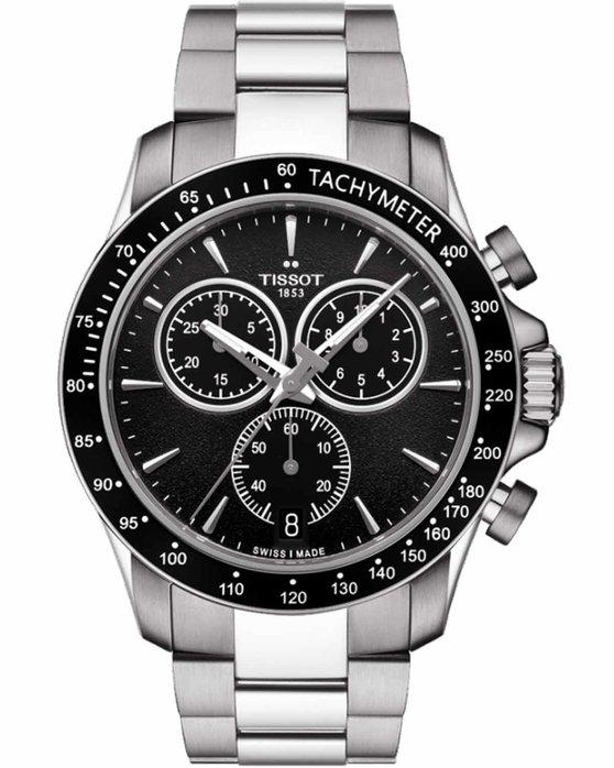 Ρολόι TISSOT V8 Stainless Steel Bracelet - T1064171105100 - OROLOI.gr 9f446f55caf