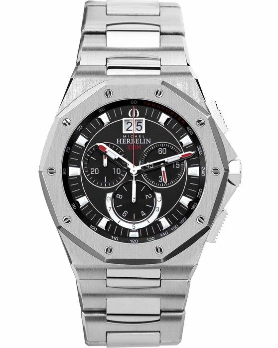 Ρολόι MICHEL HERBELIN Odyssee Chronograph Stainless Steel Bracelet -  MH36631 B14 - OROLOI.gr 73dbb7fe3f6