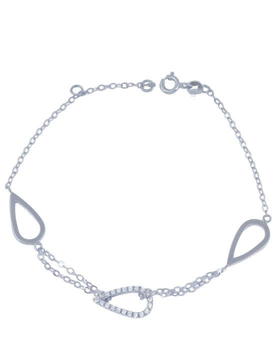 Ρολόι Bracelet 14ct White gold with Zircon SAVVIDIS - 503BRP280 - OROLOI.gr cbb1efcd024