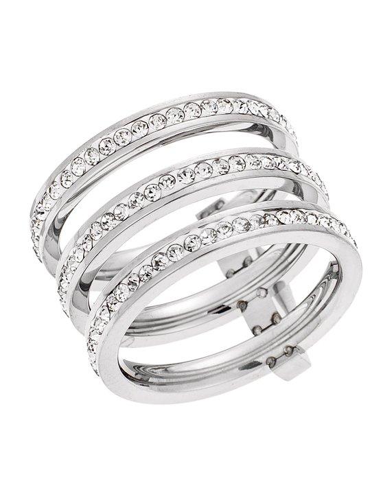 Ρολόι PUPPIS δαχτυλίδι από ανοξείδωτο ατσάλι - PUR36153S - OROLOI.gr 7f8703952dc