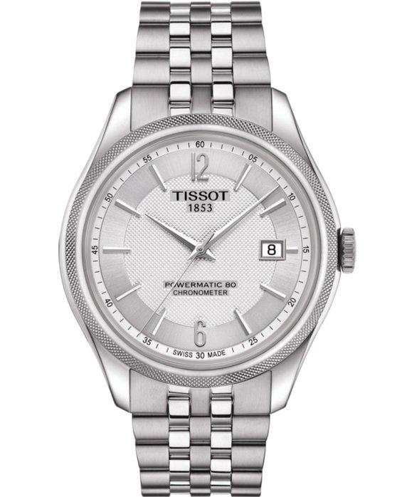 Ρολόι TISSOT Ballade Powermatic 80 Silver Stainless Steel Bracelet ... 7cb27cd3450