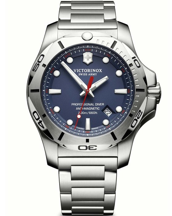 VICTORINOX Swiss Inox Professional Diver Stainless Steel Bracelet