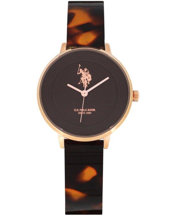 Ρολόι U.S. POLO Eleonore Brown Combined Materials Bracelet - USP5559BR -  OROLOI.gr 85550899bf5