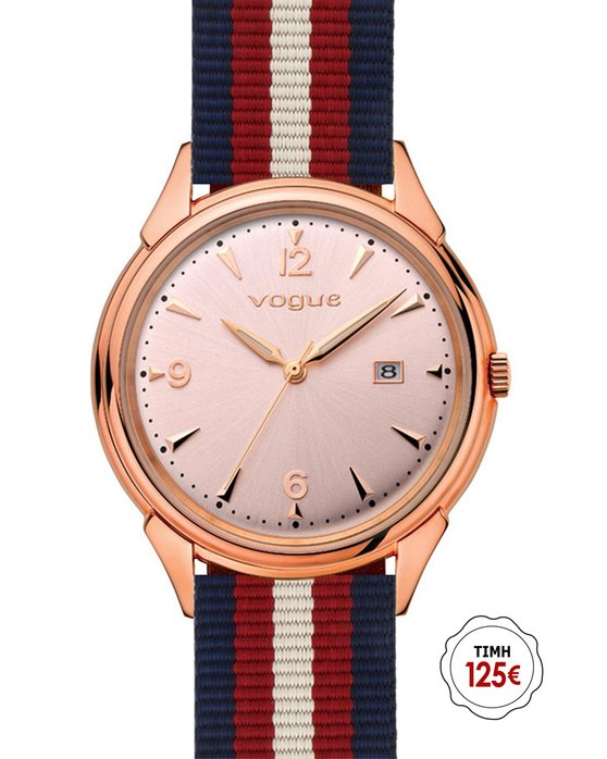 VOGUE Back to 50's Multicolor Fabric Strap