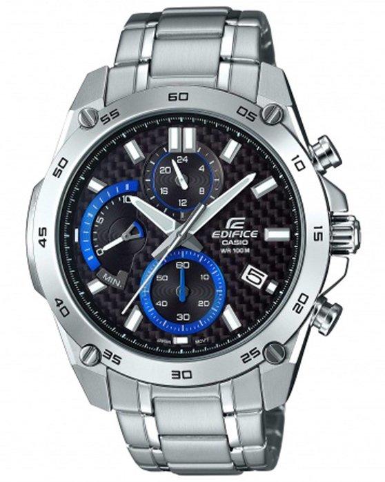 Ρολόι CASIO Edifice Chronograph Silver Stainless Steel Bracelet -  EFR-557CD-1AVUEF - OROLOI.gr 8e61e453eb3