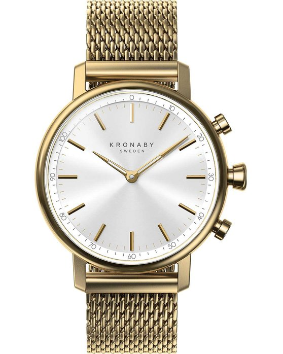 KRONABY SWEDEN CONNECTED Carat Gold Stainless Steel Bracelet