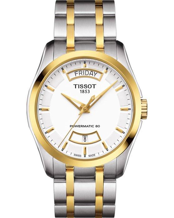 Ρολόι TISSOT Couturier Automatic Two Tone Stainless Steel Bracelet ... 7c7ec37f6e8