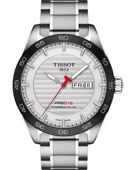 Ρολόι TISSOT PRS 516 Automatic Silver Stainless Steel Bracelet ... de3d7d6fccc