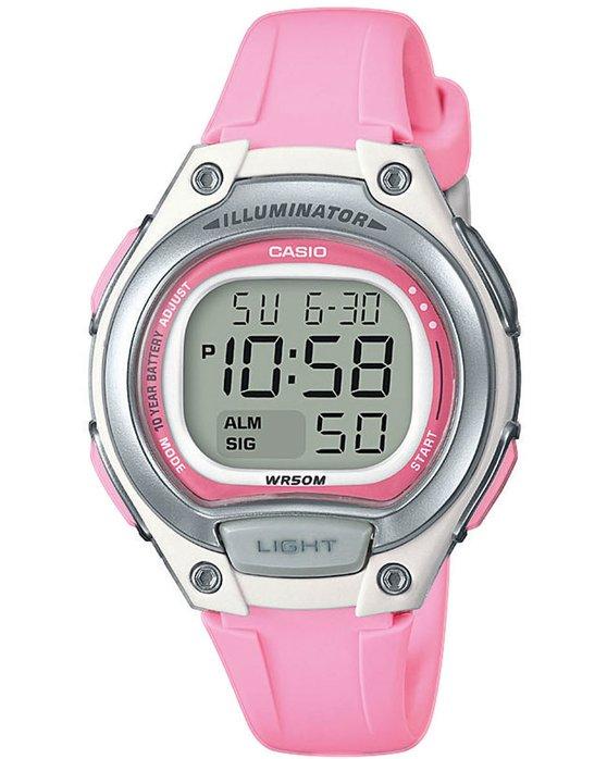 Ρολόι CASIO Collection Chronograph Pink Rubber Strap - LW-203-4AVEF -  OROLOI.gr 32e93e61391