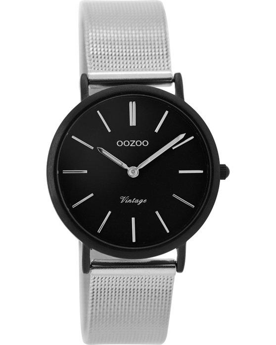 Ρολόι OOZOO Vintage Silver Metallic Bracelet 32mm - C8879 - OROLOI.gr 2686c735011