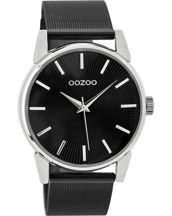 Ρολόι OOZOO Timepieces Black Metallic Bracelet - C9551 - OROLOI.gr 74f2198d458