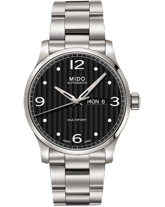 Ρολόι MIDO Multifort Automatic Silver Stainless Steel Bracelet -  M005.430.11.050.00 - OROLOI.gr c7df3b82f09