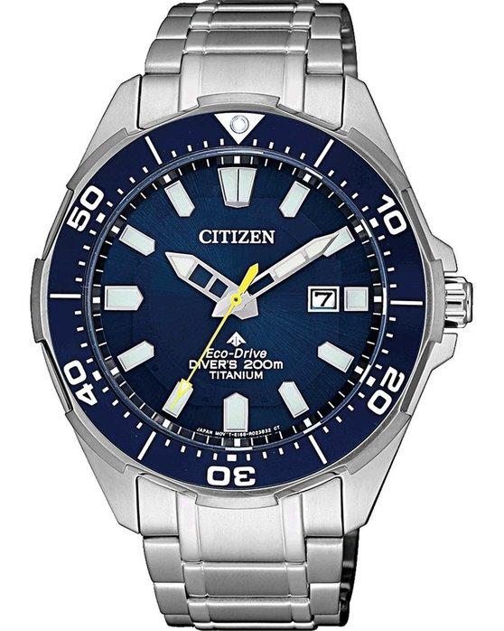 Ρολόι CITIZEN Promaster Eco-Drive Silver Titanium Bracelet - BN0201 ... 997732ed814