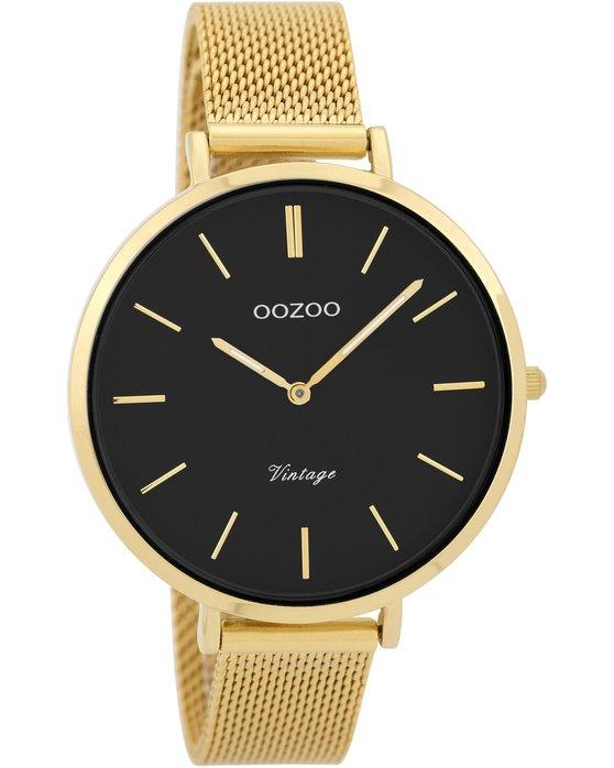 Ρολόι OOZOO Vintage Gold Metallic Bracelet - C9379 - OROLOI.gr 3220f9e1dac