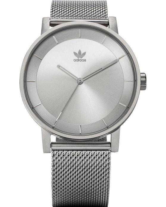 Ρολόι ADIDAS ORIGINALS District M1 Silver Stainless Steel Bracelet -  Z04-1920-00 - OROLOI.gr dc288ca0f13