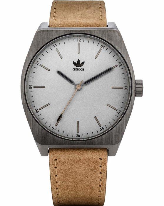Ρολόι ADIDAS ORIGINALS Process L1 Brown Leather Strap - Z05-2916-00 ... cc038861091