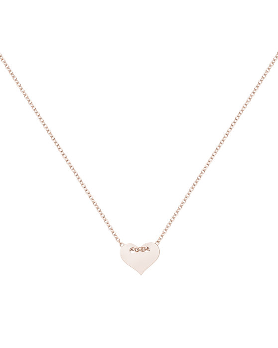 Ρολόι Necklace 14K Rose Gold by SAVVIDIS - 192XR42 - OROLOI.gr e95793c3177