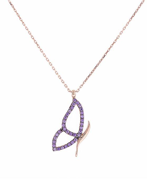 Ρολόι Necklace 14K Rose Gold by SAVVIDIS - 3435DIV230 - OROLOI.gr d2914f7efe8