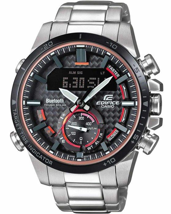 Ρολόι CASIO Edifice Solar Chronograph Silver Stainless Steel ... a1511f5b28c