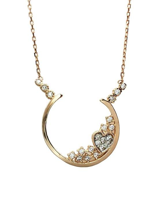 Ρολόι Necklace 14K Rose Gold SAVVIDIS - 5DIV516RC - OROLOI.gr 67e61750184