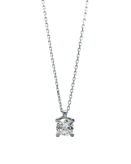 Ρολόι Necklace 14K White Gold SAVVIDIS - 5FM47292W - OROLOI.gr 4e5a711e205