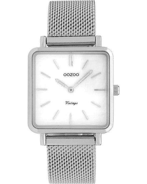 Ρολόι OOZOO Vintage Silver Metallic Bracelet - C9840 - OROLOI.gr 1584d5ee324