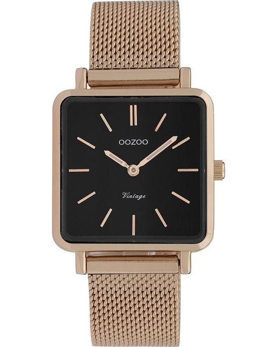Ρολόι OOZOO Vintage Rose Gold Metallic Bracelet - C9848 - OROLOI.gr ee972f0126a