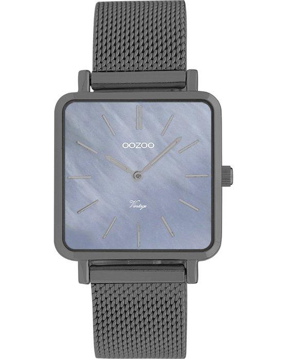 Ρολόι OOZOO Vintage Grey Metallic Bracelet - C9849 - OROLOI.gr ad2d85c7713