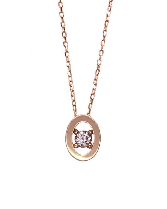 Ρολόι Necklace 14K Rose Gold SAVVIDIS - 5FM47211RC - OROLOI.gr 4d1e57e9346