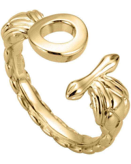 Ρολόι Δαχτυλίδι Just Cavalli από ανοξείδωτο ατσάλι (medium ... 6f2eff8c0b5