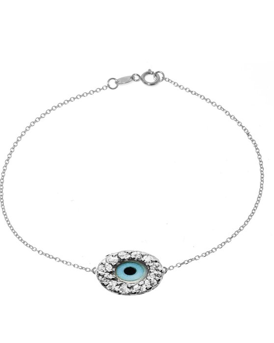 Ρολόι Bracelet 14ct White Gold with Zircon SAVVIDIS - 172B1429B1 - OROLOI.gr 9782f0567df