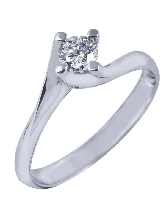Ρολόι Μονόπετρο δαχτυλίδι SAVVIDIS από λευκόχρυσο 18K με διαμάντι ... 1472c850871