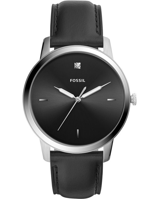 FOSSIL The Minimalist Black Leather Strap
