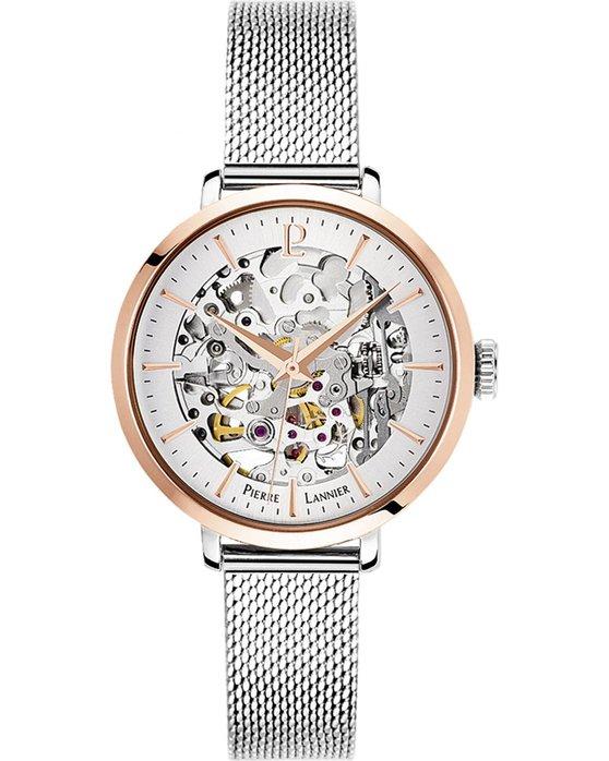 Ρολόι PIERRE LANNIER Ladies Automatic Silver Stainless Steel Bracelet -  312B628 - OROLOI.gr 1ade28356bc