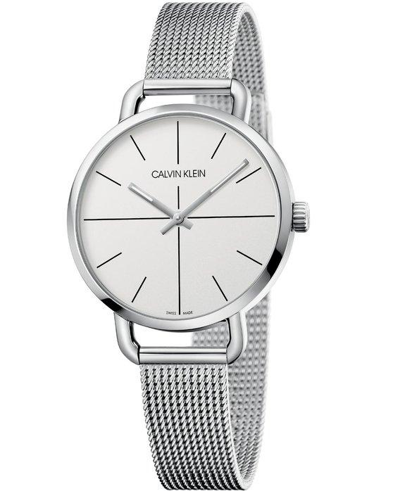 Ρολόι Calvin KLEIN Even Silver Stainless Steel Bracelet - K7B23126 -  OROLOI.gr eccab080dec