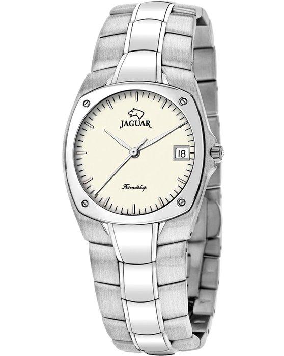 Ρολόι jaguar friendship silver stainless steel bracelet - j288/2