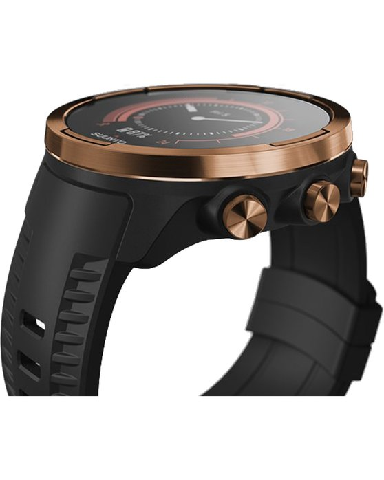 SUUNTO 9 Baro Copper with Black Silicone Strap