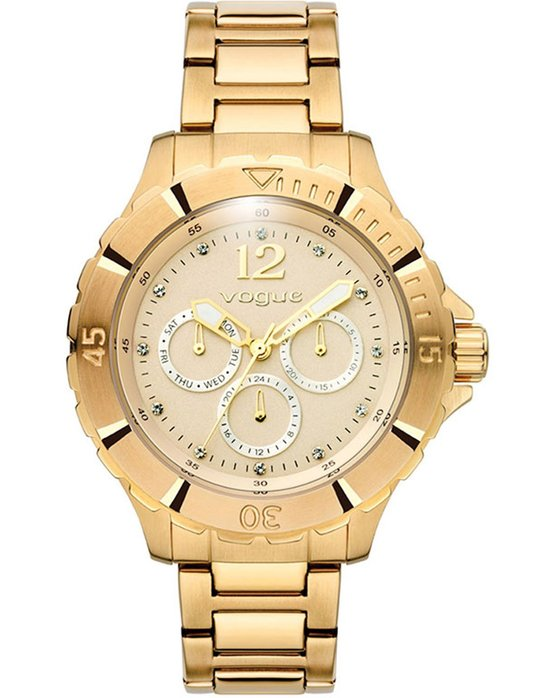VOGUE Four Seasons Gold Stainless Steel Bracelet