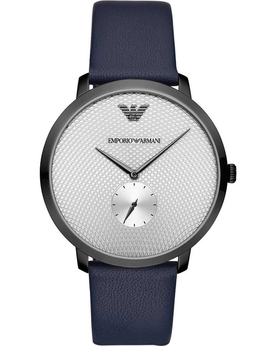 Emporio ARMANI Blue Leather Strap
